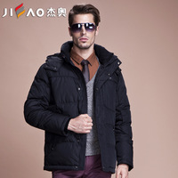 Geo men's clothing 2014 classic fashion business casual thickening down coat male thickening thermal eiderdown outerwear