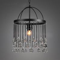 American Vintage Village Modern Crystal Glass Chandelier Plating Crystal Lamp Iron Art Lighting for Ceiling Light  Light Fixture