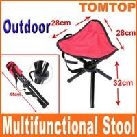 Folding Camping Hiking Fishing Picnic Garden BBQ Stool Tripod Chair Seat Outdoor