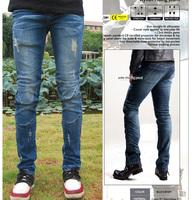 uglybros vegas hidden side plug knee stretch jeans riding a motorcycle pants