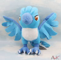"10pcs/lot BANPRESTO Pokemon Plush Toy Articuno 7"" Cute Soft Stuffed Animal Doll for Kids Baby Children"
