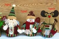 2014 Christmas Decoration Child Kids Snowman Santa Claus Reindeer Toys Christmas Gifts
