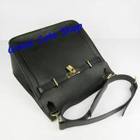 Lady Bucket Bag Brand Genuine Leather Shoulder Bag Silver/Gold Lock&Key Top Quality Original Package (Dust Bag,Card) #H6508
