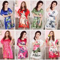 Factory direct summer pajamas silk nightgown big yards ladies round neck lace silk pajamas tracksuit wholesale