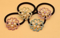 fashion punk women statement hair scrunchy spike hair jewelry wholesale 2013