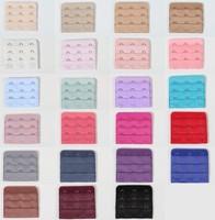 Ladies Useful Bra Extenders Strap Extension 3 Hooks 3 Rows Adjustable belt buckle multi color available