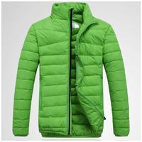 winter 2014 new fashion trends men's short design down jacket brand outdoor male ultralight thin warm parkas coat outerwear man