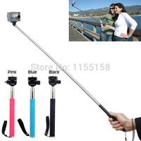 free shipping Extendable Handheld Monopod Pole Grip holder Handle Rod for Gopro Hero 1 2 3 PSHG J0352 P