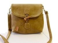 2014 New Women PU Bags Casual PU Messenge bag Flap Hobos Shoulder bag Female Vintage PU long strap Satchel BH-7380 Free Shipping