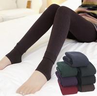 free shipping Neeka Women Warm Winter Faux Velvet Legging Knitted Thick Slim ankle-length mid polyester Leggings Super Elastic