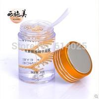 Free shipping XISHIMEI Nature Silk Fibroin Pearl Essence Eye Gel Cream
