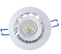 Free shipping 2pcs a lot reflector cup anti-glare 3yrs warranty cob led downlight 15w
