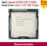 Celeron Processor G1620 Dual Core 2.7GHz LGA 1155 2M Cache 55W Desktop for Intel CPU