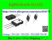 Free Shipping FQPF630 630 TO-252 10pcs/lot
