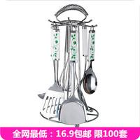 Kitchen shelf rack cookware storage rack shovel spatula rack shovel spoon rack stainless steel kitchen utensils