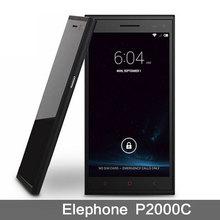 Hot  Cell Phones  Ouad Core Mobile MTK6582  Elephone P2000C  8.0MP  HD Camera Original Phone White Black  Smartphone Dual SIM