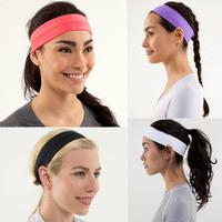 2014 retail lulu Brand Yoga Girl Headband Hair Bands Strap women's yoga headband lulu headbands Free shipping sport wear