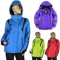 Winter Fashion Women's Ski Set Outdoor Windproof Waterproof Jacket + Pants Skiing Snowboarding Outerwear Free Shipping 128
