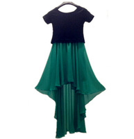 Fashion Ms. long plus size S-4XL contrast color asymmetrical dress,patchwork High-waisted sexy casual dresses,party dress
