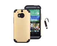 Hybrid Shockproof Rubber Rugged Hard Case Cover For HTC One M8