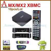 10pcs/lot Dual Core XBMC Android TV Box Add ons Fully Loaded 1G RAM 8G ROM Dual ARM Cortex A9 Amlogic 8726 MX Dual Core WIFI