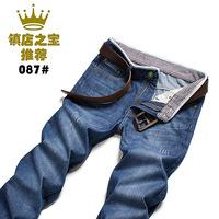 New winter men's jeans Slim Straight Men's jeans / 087-3