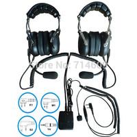 headset intercom/ 2pcs headset