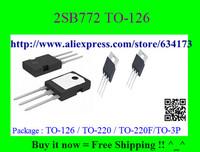 Free Shipping  2SB772 TO-126 10pcs/lot