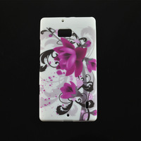 New Stylish Flower Butterfly Heart Soft TPU Back Case Protective Skin Cover For Nokia Lumia 930