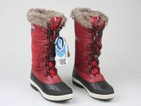 Free shipping hot sale  women's outdoor snow bootshigh-leg waterproof winter warm boots