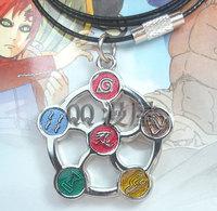 New Naruto Anime Products  Ninjutsu Konoha  Mobile phone chain Necklace  Cosplay ACC  Free Shipping