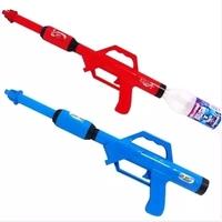 Free shipping Toy gun Inflatable Pressure Gun. squirt gun. Cola Water Fight Blaster super soaker Gun  Fits Screw Top Bottles