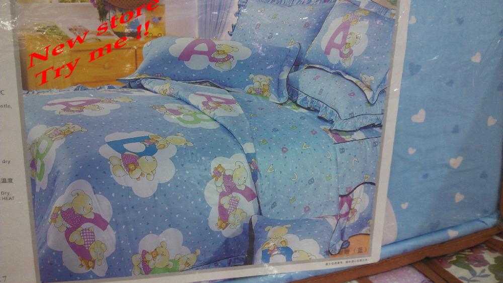 3D jogo de cama de algodão roupas de cama cama rainha rei Quilt / duvet roupa de cama de algodão lençóis de cobertura reativa Quilt fronha(China (Mainland))