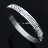 fashion titanium bangles the luxurious bracelet with diamond