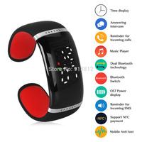 Bluetooth Bracelet Wrist Smart Watch Vibrating Alert Mic Call Reminder Anti-loss,wirless bluetooth