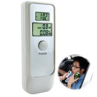 Dual Digital LCD Blood Alcohol Breath Tester Analyzer Breathalyzer Detector Test