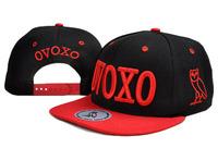 6 Colors 2014 Hot Sale Fashion New Casual Embroidery OVOXO LOGO Snapbacks Hip-Hop Hats Adjustable Baseball Caps for Men & Women