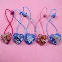 5pairs/lot 10pcs Frozen Anna Elsa Olaf kids hair band Hairpins Hair bands headwear baby children gift hairband girl accessories