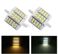 Free Shipping R7S LED10W|78mm LED R7S 5050 corn bulb Halogen Free shipping