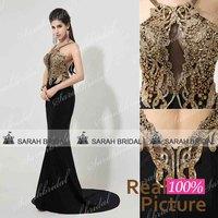 XU026women mermaid evening dresses long with sequins vestido de festa plus size de renda luxurious prom evening gowns crystal