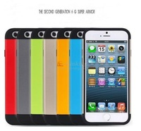 """Free Shipping Spigen Cases For iPhone6 6G 4.7"""" Slim Armor Case Brand Back Cover Hot 10pcs/Lot"""