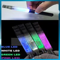 Best EGO  Atomizer 312 LED Light Transparent 3.5ml EGO-T battery1100mah Electronic Cigarette kit