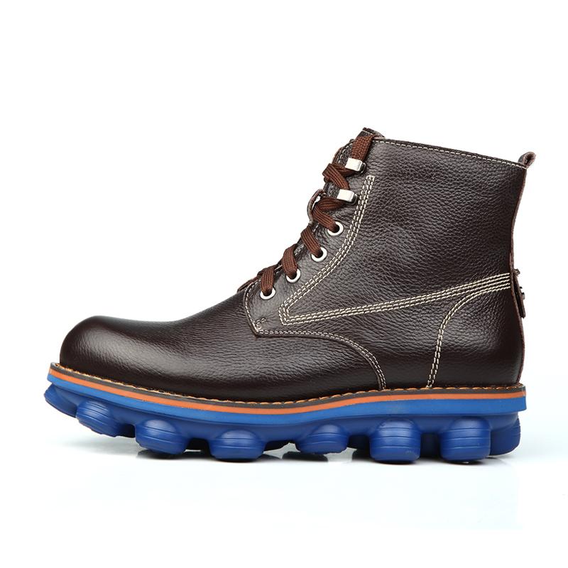 2014 зима кроссовки из натуральной кожи мода теплые зимы ...