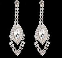 23604 Fashion popular Tassel Rhinestone Color Earrings