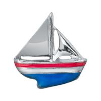 20pcs/lot Free Shipping Diy Fashion Alloy Sailboat Floating Charm For Origami Owl Memory Living Locket