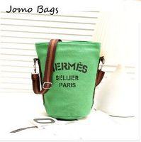 2014 New Hot Canvas Bucket Bag Handbag Female Casual Canvas Shoulder Bag Cross- Body Bags Women Messenger Bag Day Clutches z3096