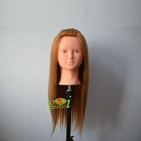55Cm Professional practice hair head Mannequin Head with hair Dummy