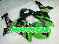 green m ster body parts for KAWASAKI Ninja ZX-10R 06 07 ZX 10R 2006 2007 ZX10R full fairing kit