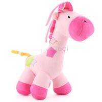 Hot 27 x 30 x 15cm Super Cute Giraffe Developmental&Educational toys baby stuffed plush animal soft Activity toys SV19 SV009913