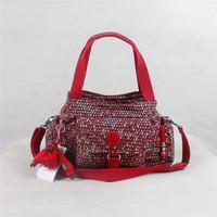 Red snake skin print monkey bags women's messenger bags light casual shoulder bag K012052-5